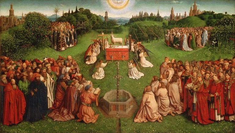 Ghent-Altarpiece-Selection-Lamb