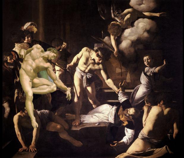 Caravaggio with Adam