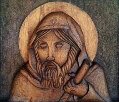 St. FInnian finshed detail
