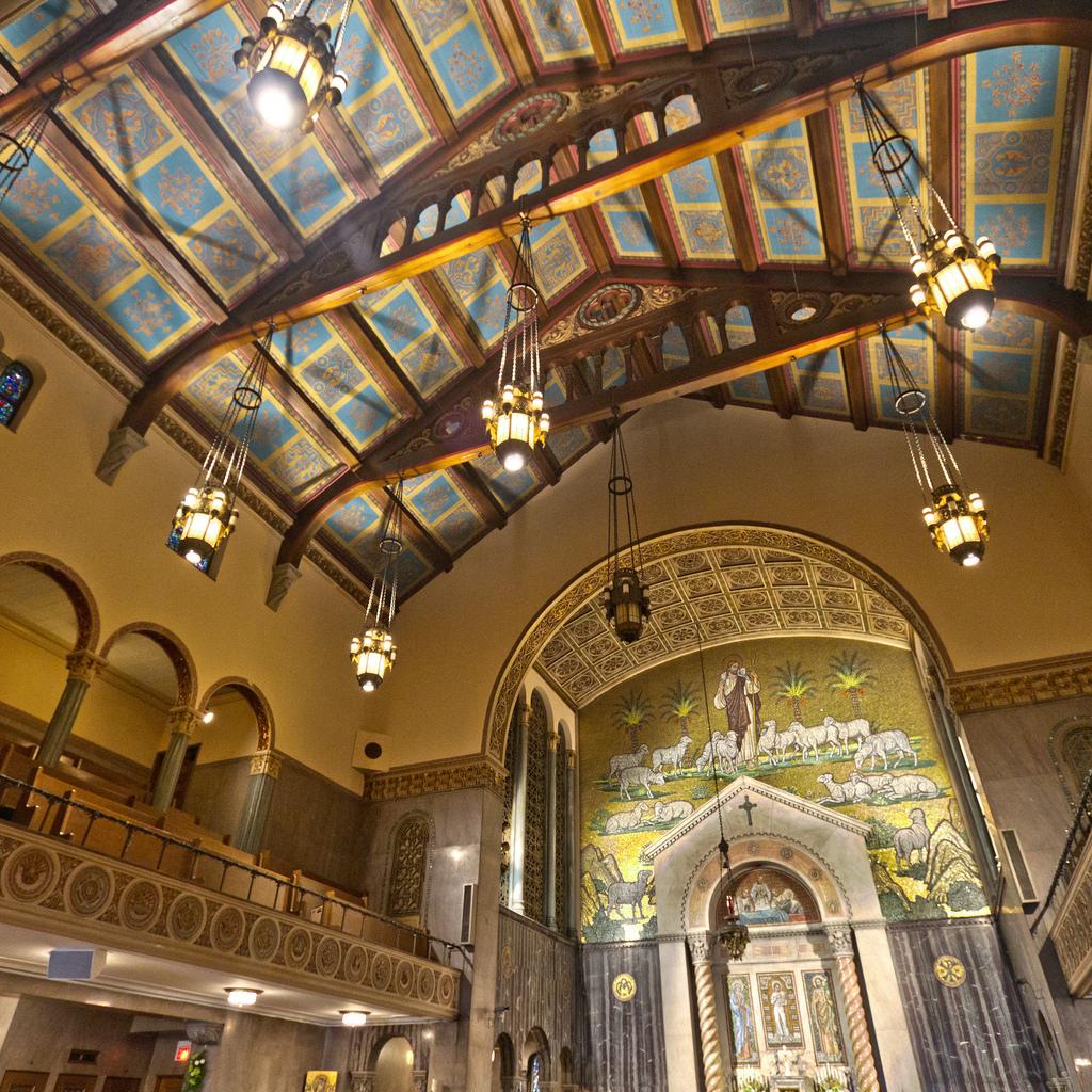 St. Aloysius Parish Interior