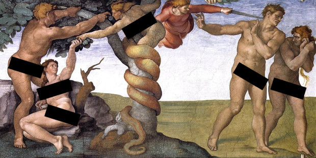 web3-sistine-chapel-forbidden-fruit-art-michaelangelo-black-bars-michelangelo-pd